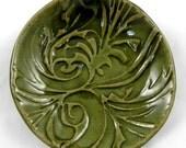 Stoneware Bowl Stoneware Bowl Textured Clay Bowl Clay Dish