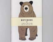 Toby | Brown Bear A6 Mini Notebook