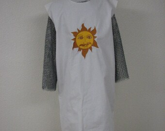 Monty Python Holy Grail Inspired King Arthur Medieval Knight Tunic Surcoat Tabard NEW