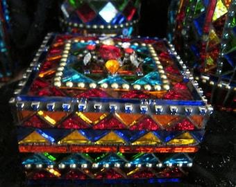 Mosaic Keepsake Trinket Box