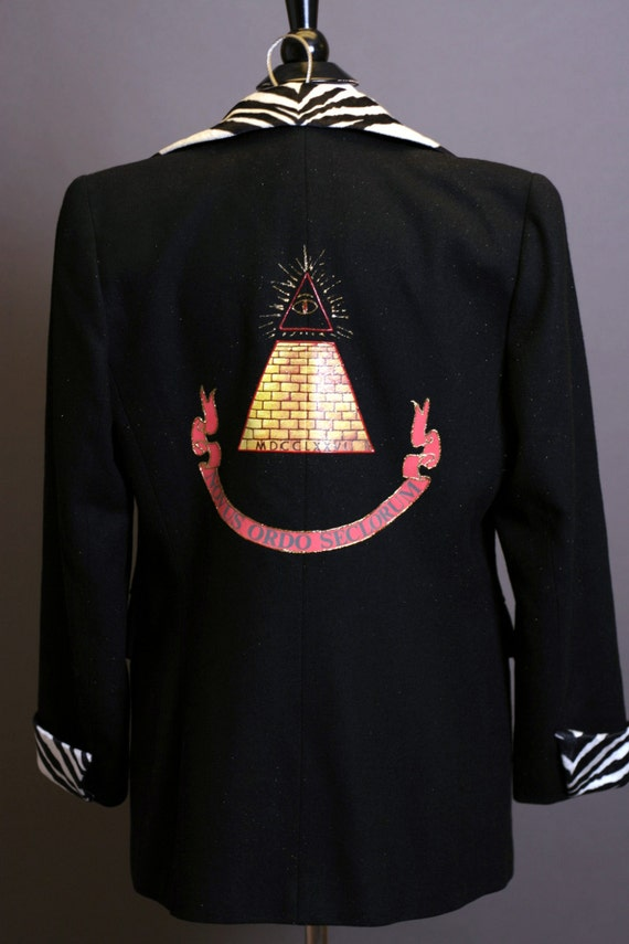 Desperately Seeking Susan Style Suit Jacket Madonna Costume