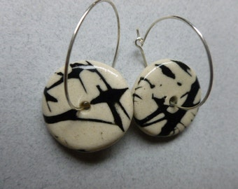 Round Mishima Earrings