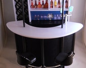 Barbie Bar Leather Material Themed Happy Hour Drinking Bar Barbie Size