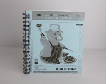French Paper Pig Notebook