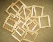 Tile frames unfinished (12)