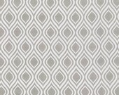 SALE fabric, Gray fabric, Boy fabric, Metro Living Mod Stencil fabric- Mod Stencil in Gray- Choose the Cut, Free Shipping Available