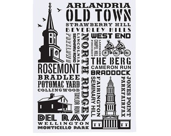 Alexandria Tea Towel/Dish Towel
