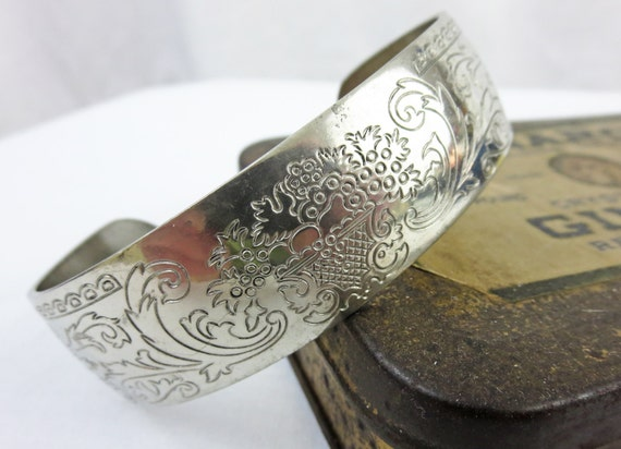 Kirk Stieff Pewter Bracelet - Cuff Bracelet