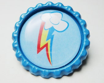 SALE!! Choose your own Bottle cap Pin Cutie Mark (See description)