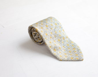 Men's Necktie / Vintage Patterned Tie / Mid Century
