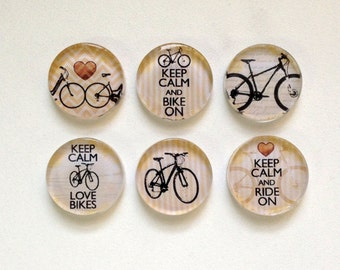 NEW Vintage Bicycles - Set of 3 Magnets (you choose the designs)