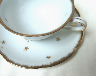 Lovely Vintage Tea Cup Stars Masonic Temple Treasures