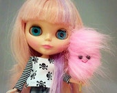 Cotton Candy for Blythe, Pullip, Hujoo and other similar sized dolls