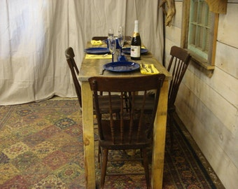 Counter Height Dining Room Table Farmhouse 72 X 24 30