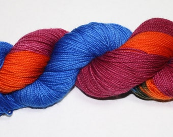 Amy and Rory Hand Dyed Sock Yarn