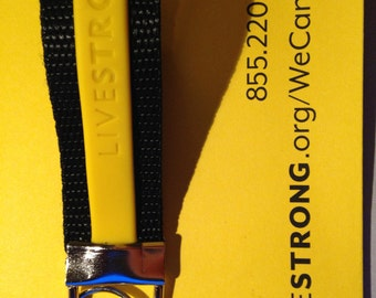 1 LIVESTRONG inspired keychain
