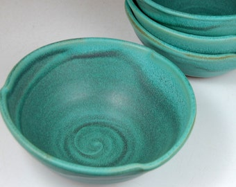 Turquoise Soup Bowl - Made to Order