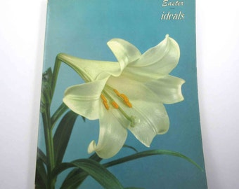Vintage 1950s Easter Ideals Magazine or Book March 1958