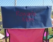 Baseball Mom - Chair Sign - Chair Cover - Team Mom Sign -Sports Mom - Baseball Mom - Soccer Mom - Lacrosse Mom - Cheer Mom