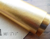 Metallic Felt Sheet - Gold - 12x17 - Bold and Shimmery - the Perfect Gold