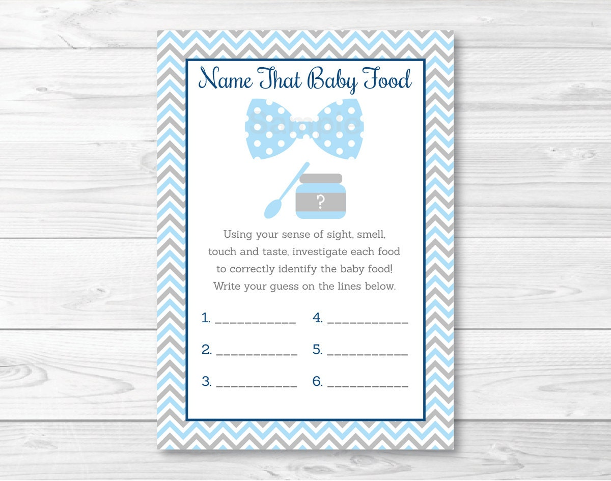 Impeccable image throughout guess the baby food game free printable