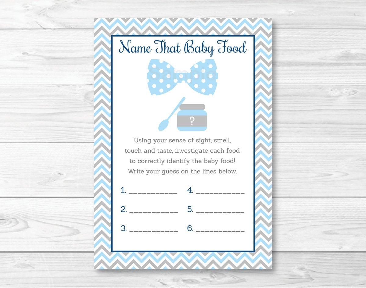 Gargantuan image with regard to guess the baby food game free printable