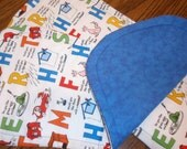 Dr. Suess Burp Cloths - Set of Two