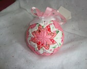 Quilted Ball Holiday Ornament