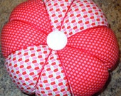 Large Pin Cushion in Choice of Fabric