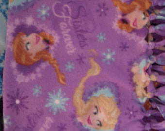 Frozen NoSew Fleece Blanket
