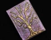 Gold Tree Sketchbook Art Journal