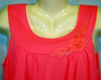 Vintage Pink Lorraine Nightgown