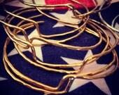 Aphrodite Cuff Bangle in Brass