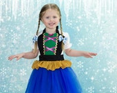 kids  ANNA  tutu dress up   apron for  full apron for dress up or baking Anna apron