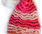 Sale on New Fun Crochet Hat Pattern , Baby sizes through Adult - Easy CROCHET PATTERN