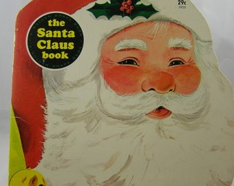 The Santa Claus Book, vintage Golden Shape book