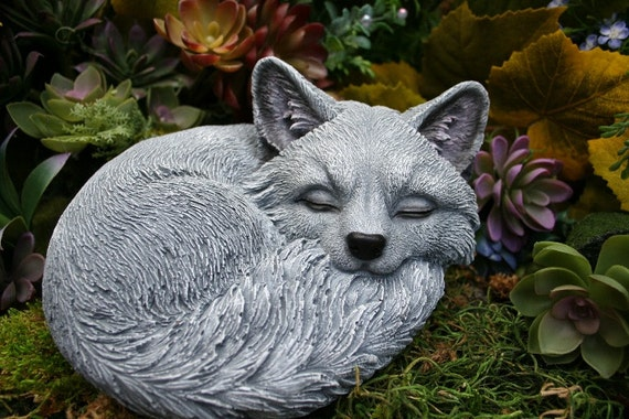 Fox Garden Statue
