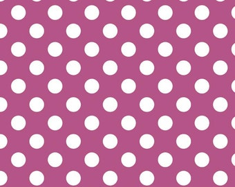 Riley Blake Designs, Medium Dots in Fuschia (C360 93)