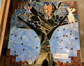 Fairy tree mosaic