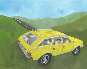 Road Trip. Limited edition print by Vivienne Strauss.