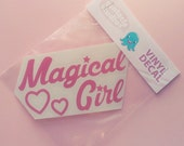 Magical Girl Mahou Shoujo Vinyl Decal