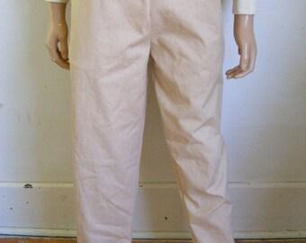 Natural color Organic cotton mens Yoga pants Hermans Eco M