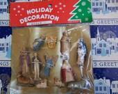 nativity scene figurines holiday decoration