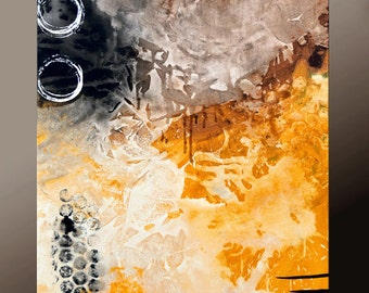 Abstract Print - Contemporary art Modern Wall Art decor by Destiny Womack  - dWo - Trials XXIX