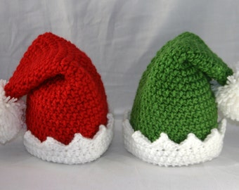 Elf Hat (child/teen/adult sizes)