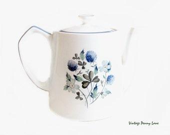 Vintage Alfred Meakin Teapot, Ceramic Tea Pot
