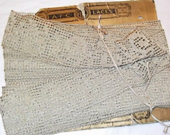 1920s Vintage AFC Lace, 12+ Yards, Cotton, Craft, Sew