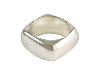 Square Ring 10mm, size 5 - 13