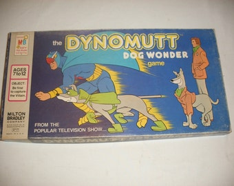 Vintage Dynomutt Board Game 1977