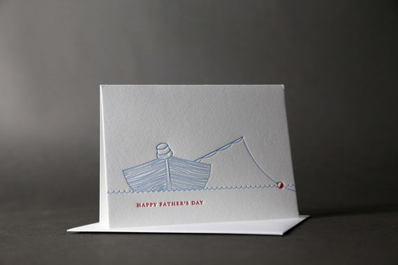Happy Father's Day Fishing Boat